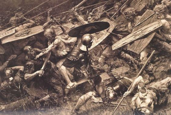 Las legiones sufren una barbaridad en el bosque