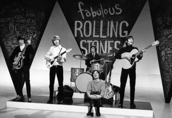 Os Rolling Stones.