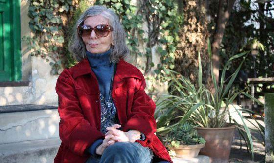 Marta Osorio, em sua casa de Granada em 2012.
