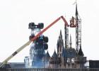 Banksy monta su Disneylandia