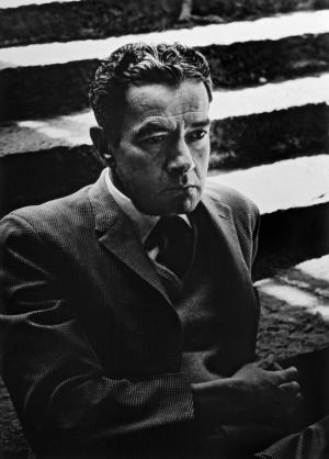 Juan Rulfo en la Ciudad de México en los años cincuenta.