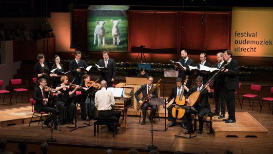 Actuación de Vox Luminis en Utrecht el pasado sábado.