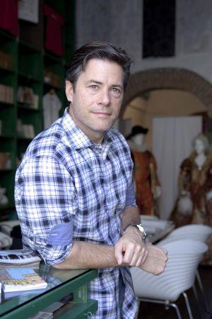 El escritor estadounidense J. R. Moehringer, en septiembre de 2013.