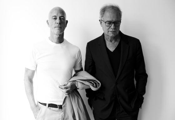 Jacques Herzog y Pierre de Meuron, en México DF.