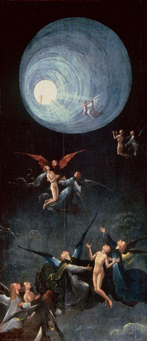 Un detalle de la obra 'Visiones del más allá', del Bosco, que se exhibirá en el Prado, procedente de la Galería de la Academia de Venecia.