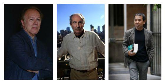 Marías, Roth y Murakami, favoritos de los lectores para el Nobel de Literatura