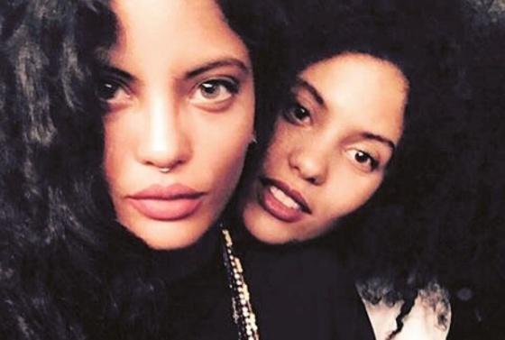Las hermanas, en una foto de su Instagram.