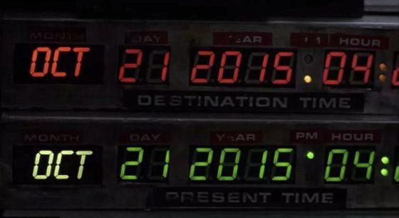 21 de octubre de 2015 - Regreso al Futuro