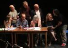 Estrellas del teatro recrean el juicio contra Baltasar Garzón