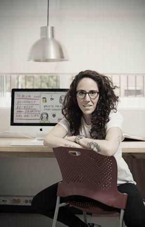 La escritoria colombiana Amalia Andrade.