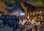 Noches de cine y fútbol en Yamena