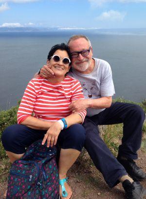 Fernando Savater y su mujer, Sara Torres.