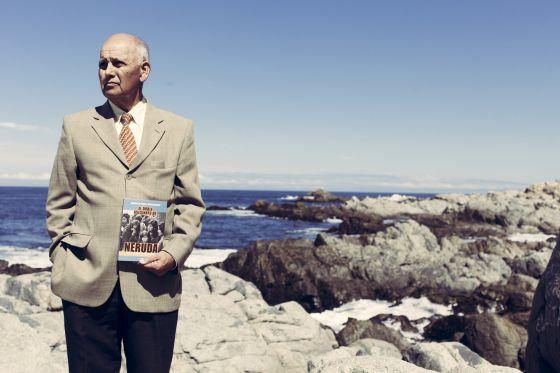 Manuel Araya, que foi motorista de Neruda, em Isla Negra.