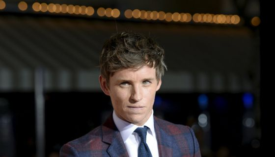 "Eddie Redmayne protagonista de la película ""The Danish Girl"""