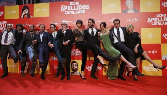 'Ocho apellidos catalanes', el mejor arranque del año