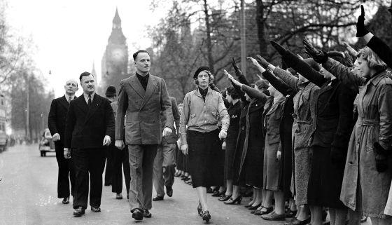 Oswald Mosley, en Londres en 1939.