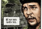 El Che como héroe de cómic