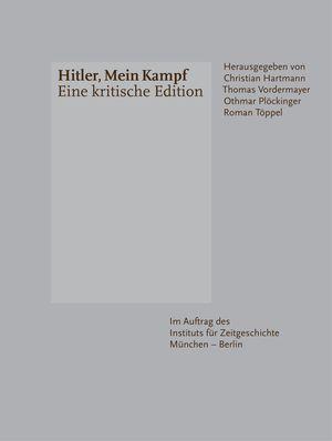 Portada de la nueva edición crítica de 'Mein Kampf'