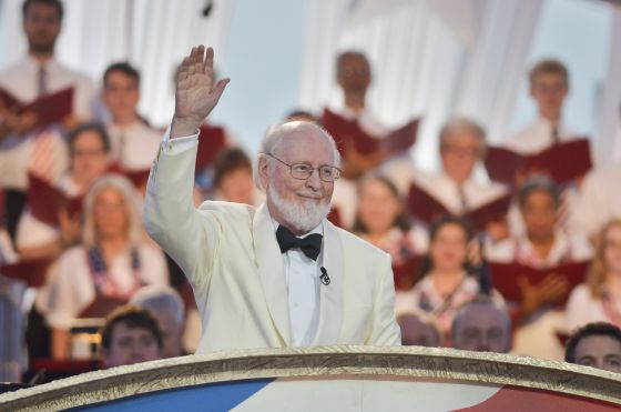 John Williams en un concierto en 2014.