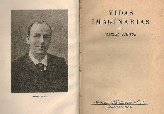 Primeras páginas de 'Vidas imaginarias', de Marcel Schwob.