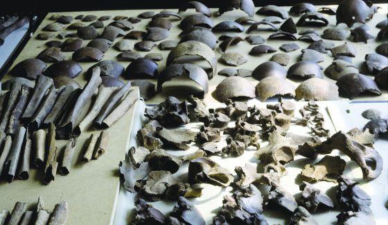 Restos humanos del siglo I ac encontrados cerca de Kessel.