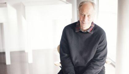 El escritor Richard Ford, este martes en Barcelona.
