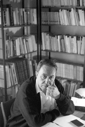 Claudio Rodríguez, en 1988, un año antes de morir.