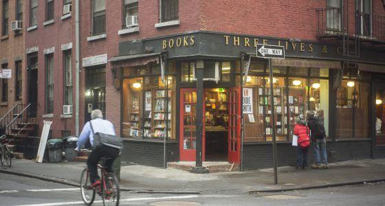 Three Lives and Company, librería independiente de Nueva York, a principios de 2013.