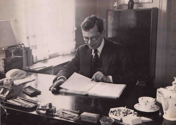 El alemán Hans Fallada, en una imagen de archivo.
