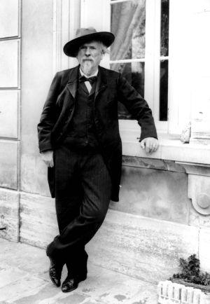 Frédéric Mistral, en abril de 1909.