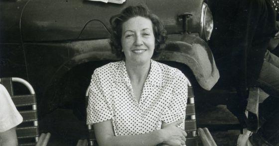 Margarita Alexandre en Cuba, en 1963.