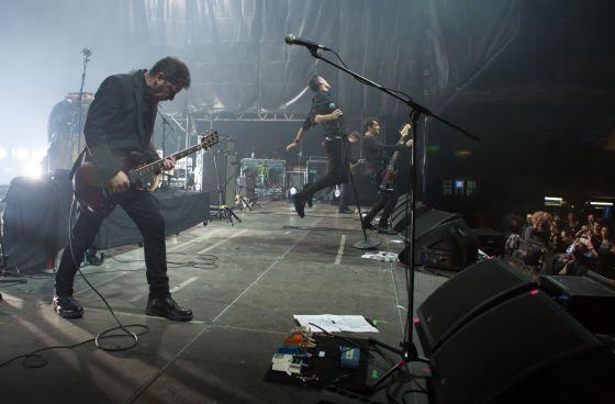 El grupo 091 durante su concierto en el Actual'16 de Logroño.