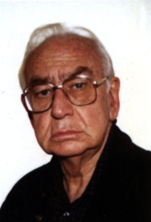 El pintor Álvaro Delgado, en 1996.
