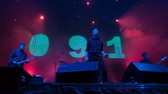 091 durante su concierto en el festial Actual de La Rioja.