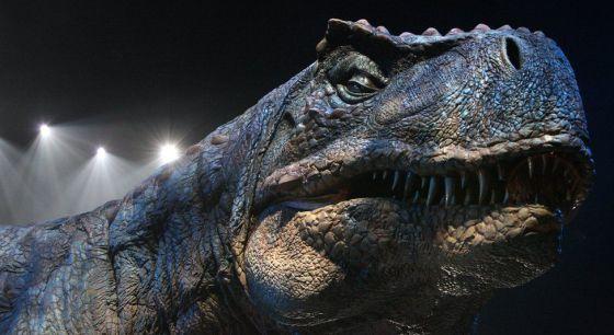 Uno de los dinosaurios de 'Jurassic World'.