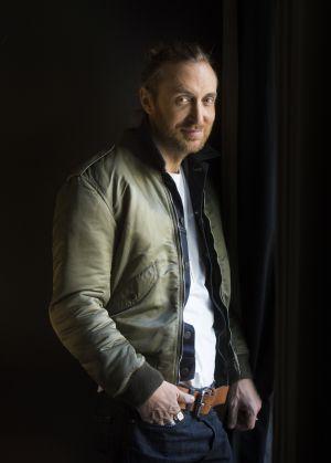 David Guetta, la semana pasada en Madrid.