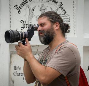 Sebastián Cordero, director de 'Sin muertos no hay carnaval'.