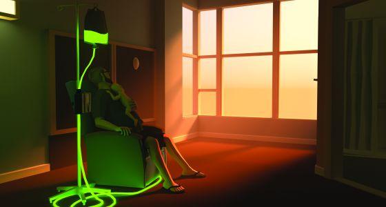 Una imagen de un episodio del videojuego 'That dragon cancer'.