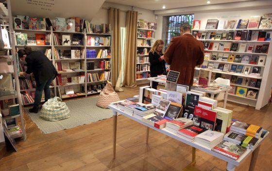 Libreria Los Editores en la calle Gurtubay en Madrid.