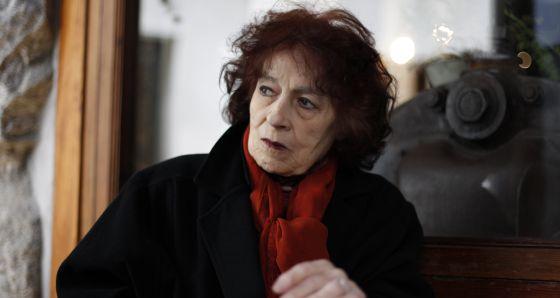 La escritora y poeta cubana Nivaria Tejera, en 2011