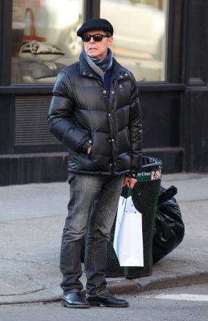 Bowie en Nueva York en 2012.