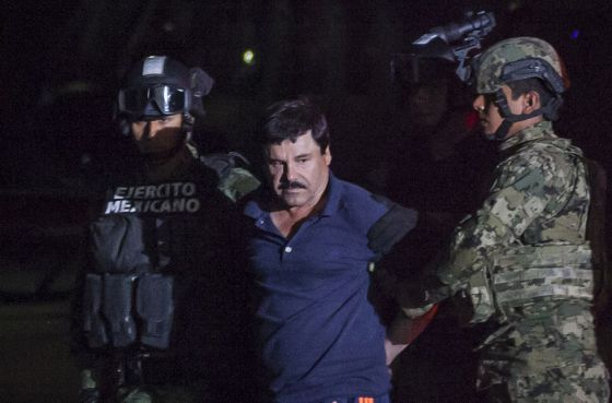 Univision prepara una serie sobre El Chapo Guzmán