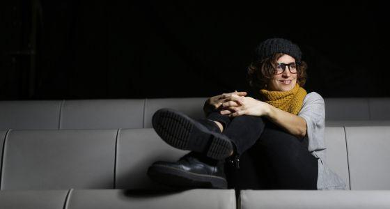 Heidi Steinhardt, directora de 'El sepelio', en el Teatro del Arte
