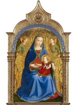 'La Virgen de la Granada', de Fra Angélico, que se incorporará a las colecciones del Prado.