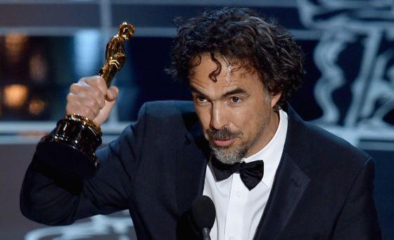 Iñárritu recoge el Oscar de mejor director
