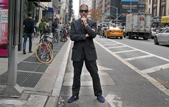Kenneth Goldsmith en Nueva York el pasado noviembre.