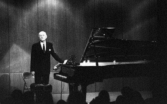El pianista Sviatoslav Richter.