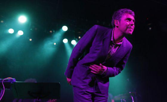 Iván Ferreiro en un concierto