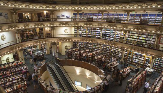 Librería El Ateneo Grand Splendid, en Buenos Aires.