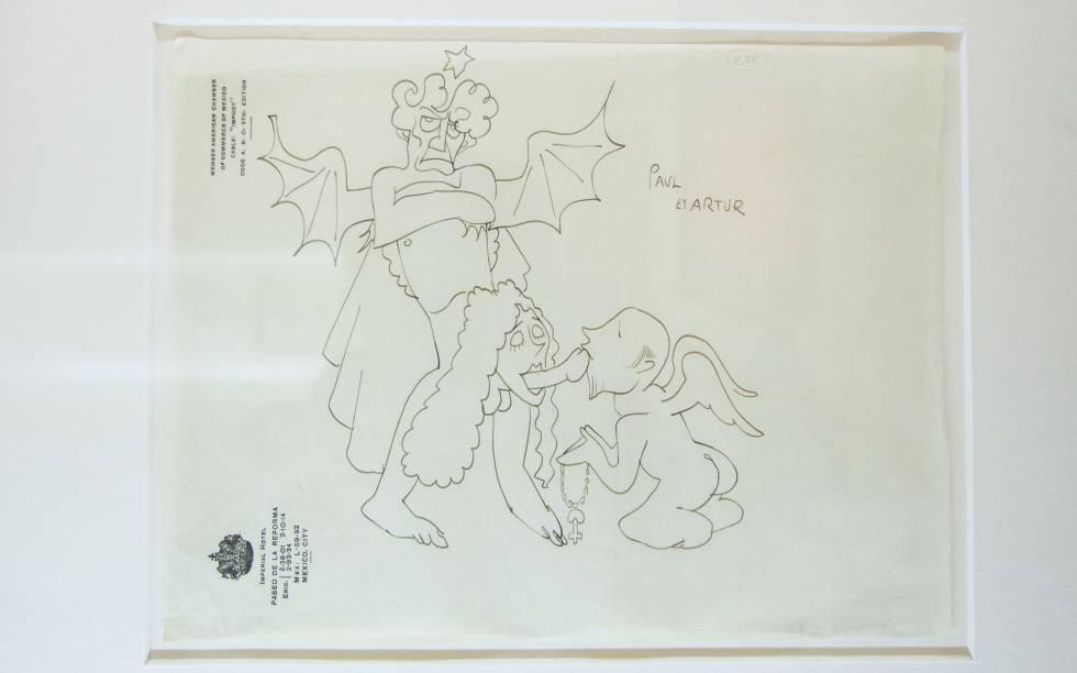 Dibujos eróticos de Serguei Eisenstein